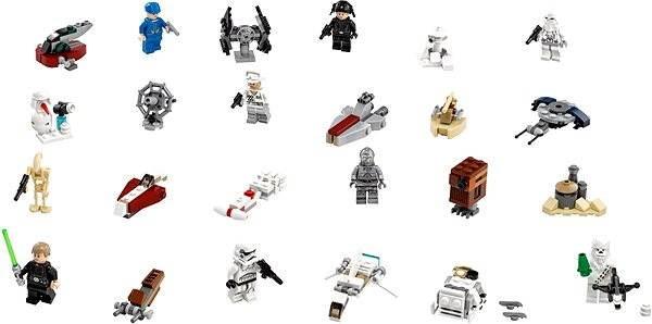 LEGO Star Wars 75146 Adventní kalendář - Stavebnice