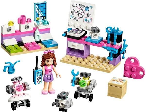 LEGO Friends 41307 Olivia a tvůrčí laboratoř - Stavebnice
