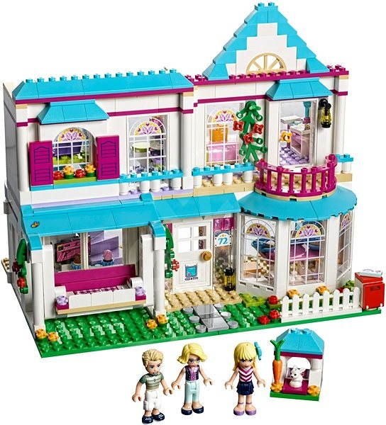67d7192a6 LEGO Friends 41314 Stephanie a její dům - Stavebnice | Alza.cz