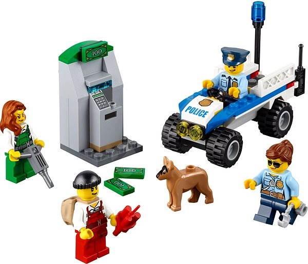 LEGO City 60136 Policie – startovací sada - Stavebnice