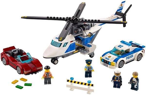 LEGO City 60138 Honička ve vysoké rychlosti - Stavebnice