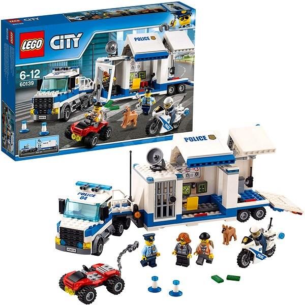 LEGO® City 60139 Mobilní velitelské centrum - LEGO stavebnice