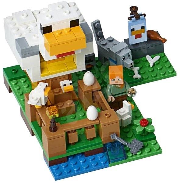 LEGO Minecraft 21140 Kurník - LEGO stavebnice