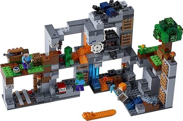LEGO Minecraft 21147 Skalní dobrodružství - Stavebnice