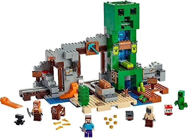 LEGO Minecraft 21155 Creepův důl - Stavebnice