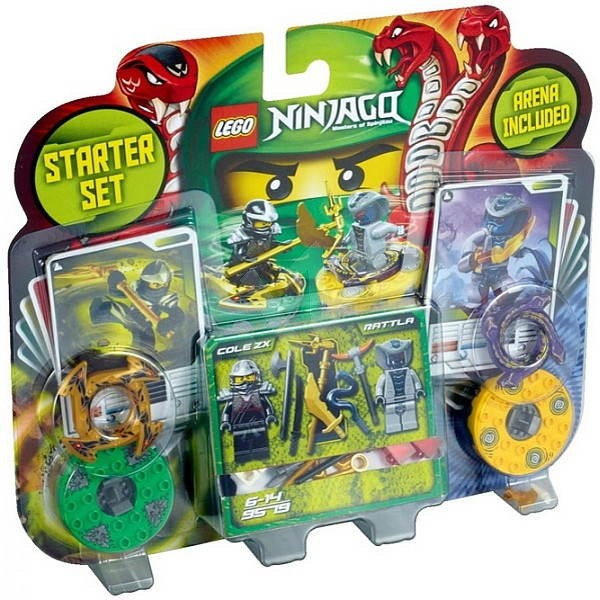 LEGO Ninjago 9579 Startovací sada - Stavebnice