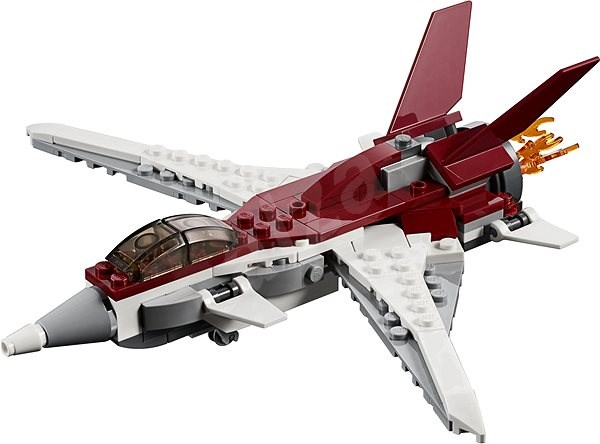 LEGO Creator 31086 Futuristický letoun - Stavebnice