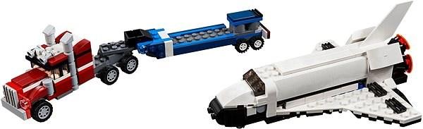 LEGO Creator 31091 Přeprava raketoplánu - LEGO stavebnice