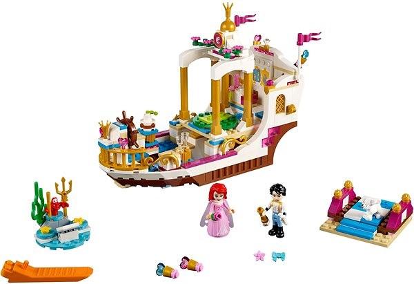 LEGO Disney 41153 Arielin královský člun na oslavy - Stavebnice