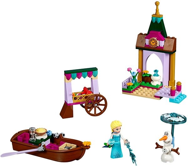 LEGO Disney 41155 Elsa a dobrodružství na trhu - Stavebnice