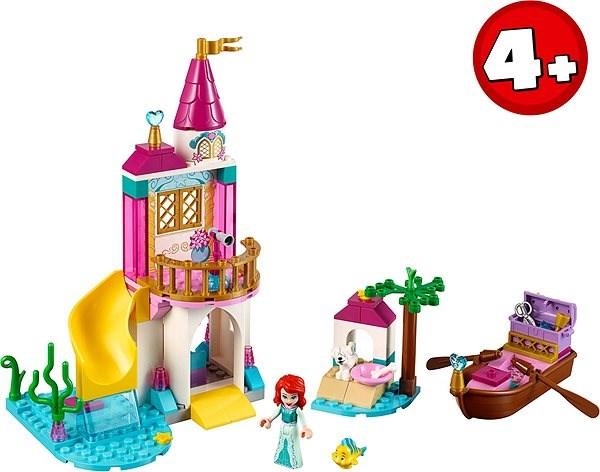 LEGO Disney 41160 Ariel a její hrad u moře - Stavebnice