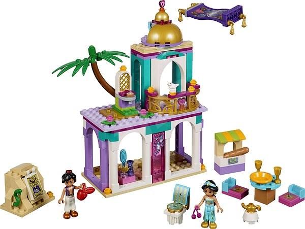LEGO Disney 41161 Palác dobrodružství Aladina a Jasmíny - Stavebnice