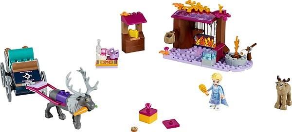 LEGO 41166 Disney Princess Elsa's Wagon Adventure - LEGO Building Kit