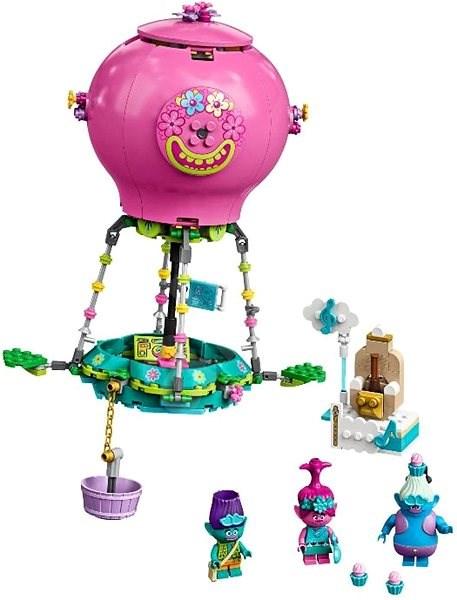 LEGO Trolls World Tour 41252 Poppy's Hot Air Balloon Adventure - LEGO Building Kit