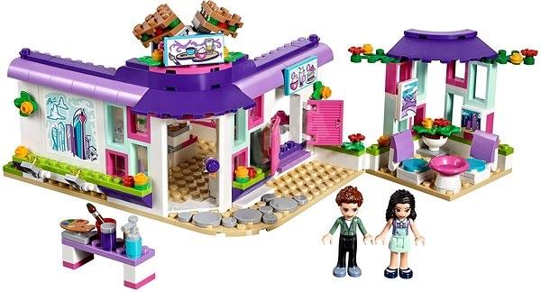 8d84e4ba6 LEGO Friends 41336 Emma a umělecká kavárna - Stavebnice | Alza.cz
