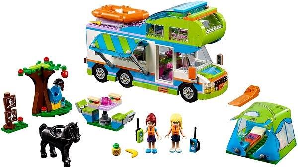 LEGO Friends 41339 Mia a její karavan - LEGO stavebnice