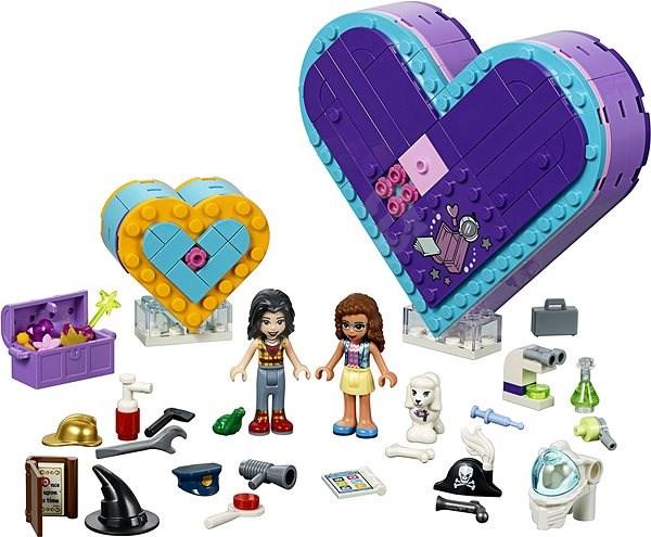307e19436 LEGO Friends 41359 Balíček srdíčkových krabiček přátelství - Stavebnice