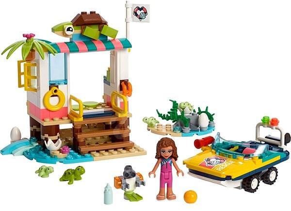 LEGO Friends 41376 Mise na záchranu želv - Stavebnice