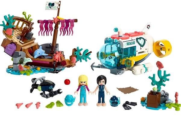 LEGO Friends 41378 Mise na záchranu delfínů - Stavebnice