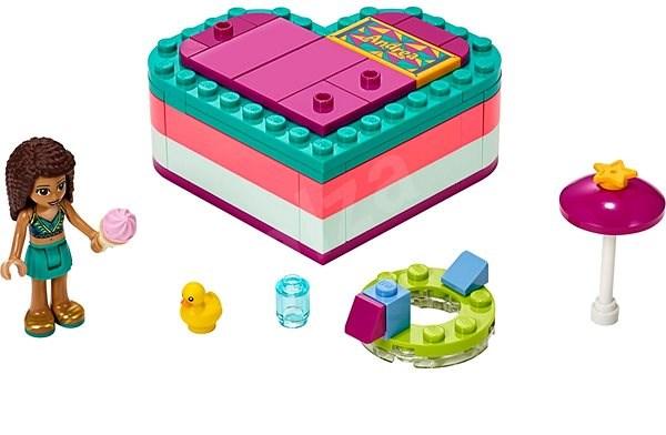 LEGO Friends 41384 Andrea a letní srdcová krabička - Stavebnice