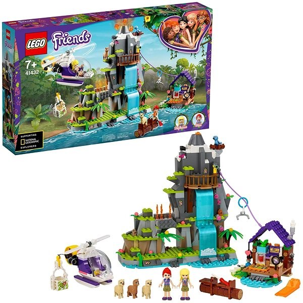 LEGO Friends 41432 Alpaca Mountain Jungle Rescue - LEGO stavebnice