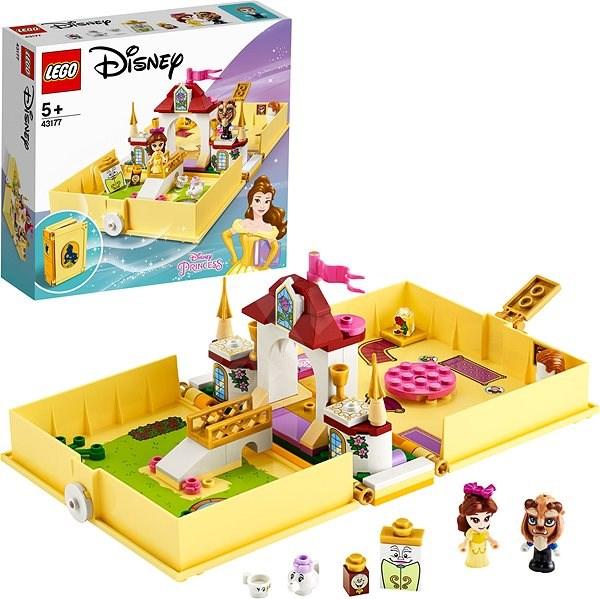 LEGO Disney 43177 Belle's Storybook Adventures - LEGO Building Kit
