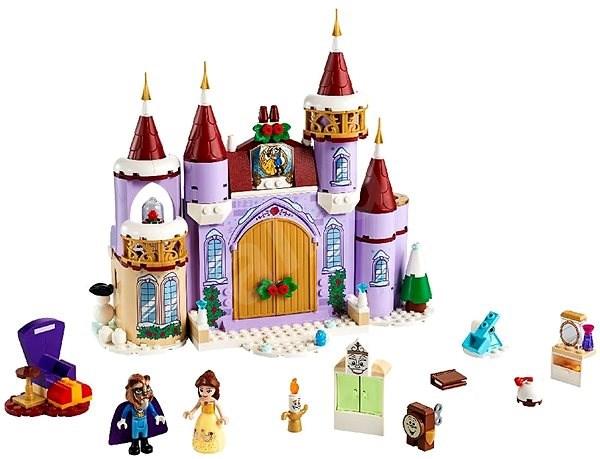 LEGO Disney Princess 43180 Bella a zimní oslava na zámku - LEGO stavebnice