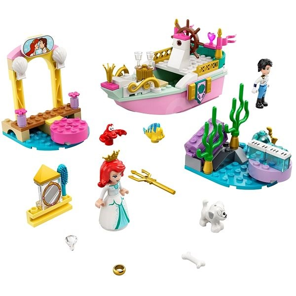 LEGO Disney Princess 43191 Ariel's Celebration Boat - LEGO Building Kit