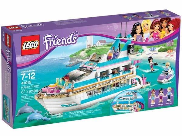 LEGO Friends 41015 Výletní loď za delfíny - Stavebnice