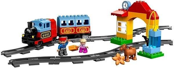 LEGO DUPLO 10507 Lego Ville, Můj první vláček - Stavebnice