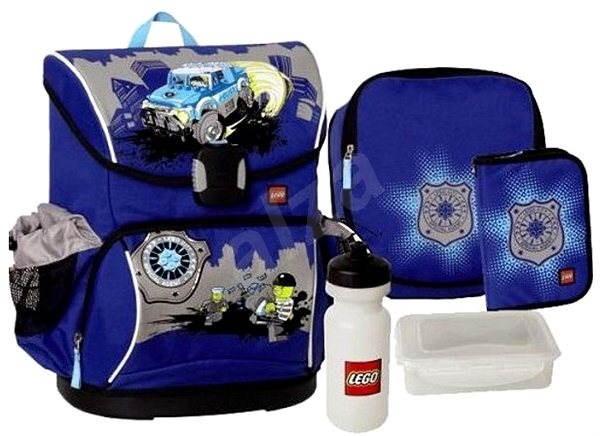 864200e3841 LEGO Supreme CITY POLICE - 6-dílný set - Školní batoh