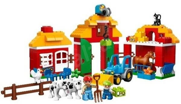 LEGO DUPLO 10525 Velká farma - Stavebnice