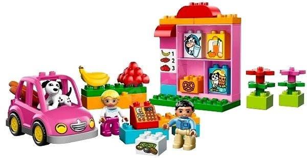 LEGO DUPLO 10546 Supermarket - Stavebnice