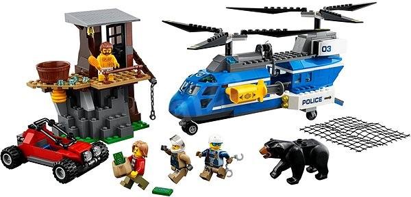 LEGO City 60173 Zatčení v horách - Stavebnice