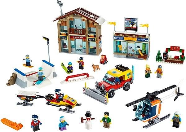 LEGO City Town 60203 Lyžařský areál - LEGO stavebnice