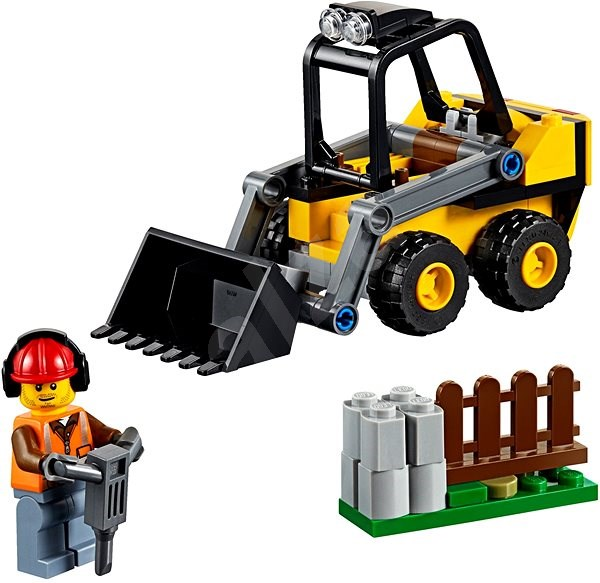 LEGO City 60219 Stavební nakladač - LEGO stavebnice