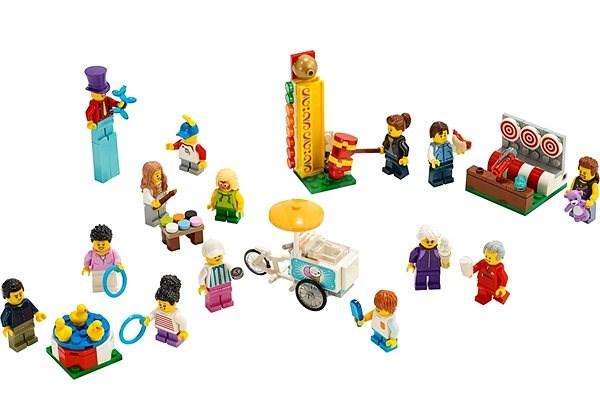 LEGO City Town 60234 Sada postav – Zábavná pouť - LEGO stavebnice