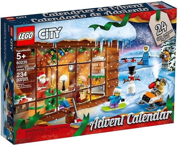 LEGO City Town 60235 Adventní kalendář LEGO City - Stavebnice