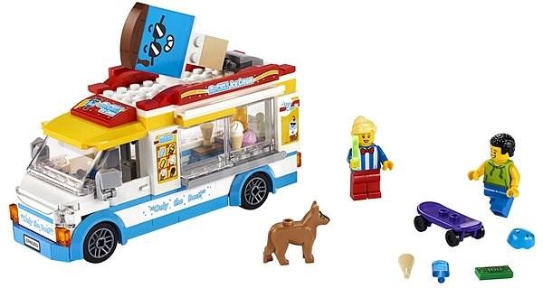 LEGO City Great Vehicles 60253 Zmrzlinářské auto - LEGO stavebnice