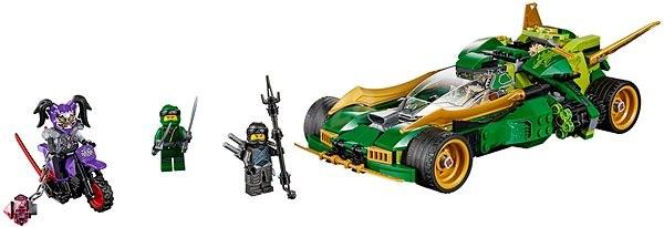 LEGO Ninjago 70641 Nindža Nightcrawler - Stavebnice