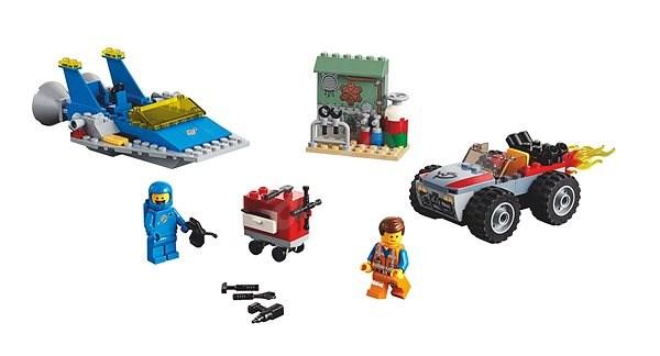 """LEGO Movie 70821 Emmetova a Bennyho dílna """"Postav a oprav to""""! - Stavebnice"""