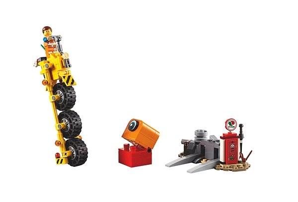 LEGO Movie 70823 Emmetova tříkolka! - LEGO stavebnice