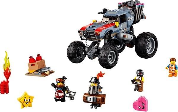 LEGO Movie 70829 Úniková bugina Emmeta a Lucy! - LEGO stavebnice
