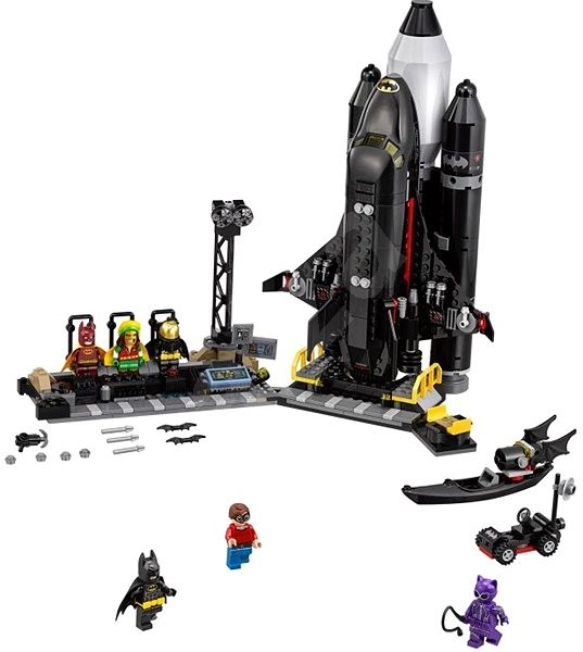 LEGO Batman Movie 70923 Batmanův raketoplán - Stavebnice