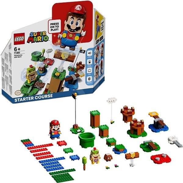 LEGO® Super Mario ™71360 Dobrodružství s Mariem – startovací set - LEGO stavebnice