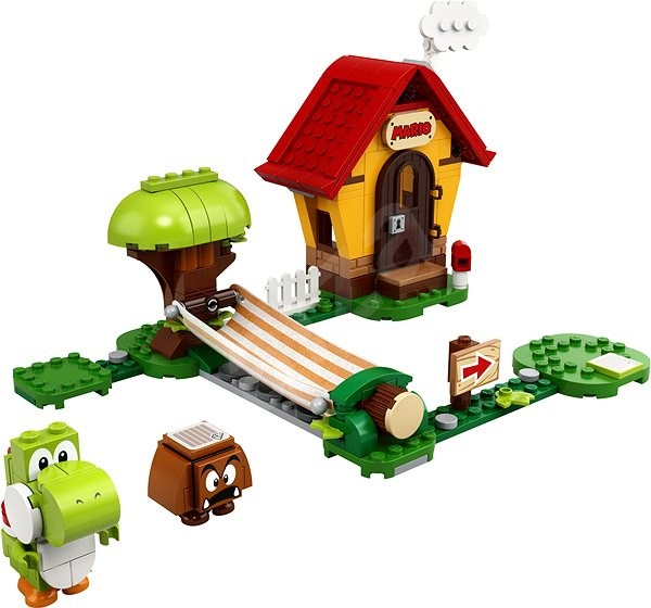 LEGO® Super Mario ™71367 Mariův dům a Yoshi – rozšiřující set - LEGO stavebnice