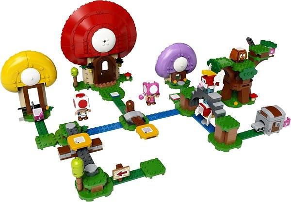 LEGO® Super Mario ™71368 Toadův lov pokladů – rozšiřující set - LEGO stavebnice