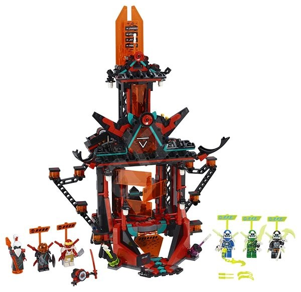 LEGO Ninjago 71712 Chrám císaře bláznovství - LEGO stavebnice
