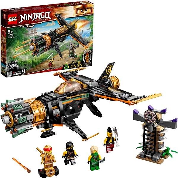 LEGO Ninjago 71736 Boulder Blaster - LEGO Building Kit