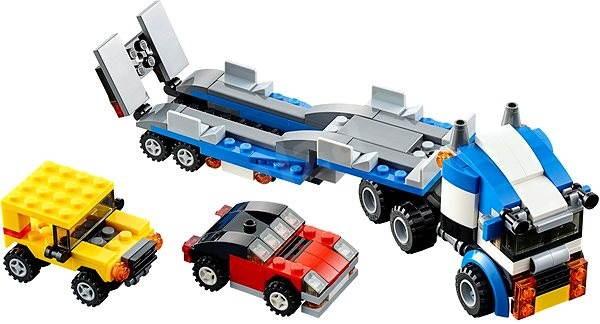LEGO Creator 31033 Kamion pro přepravu aut - Stavebnice